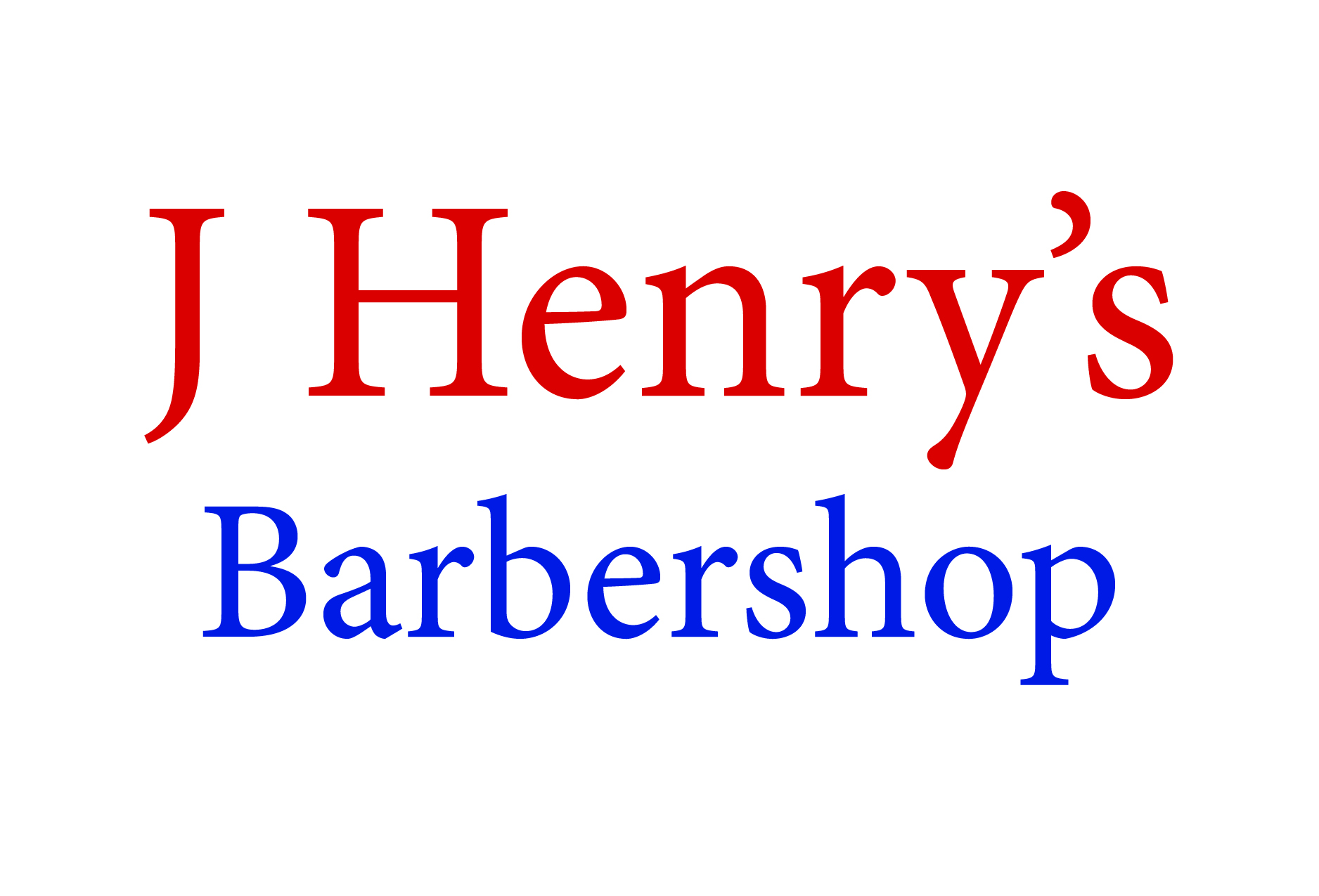 J Henry's Barbershop