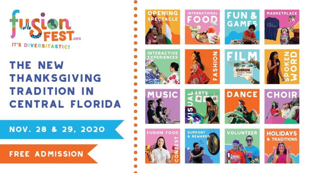 FusionFest Event Flyer