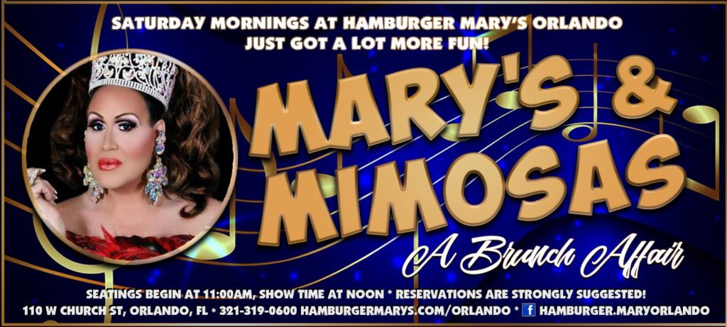 Mary's & Mimosas Event Information
