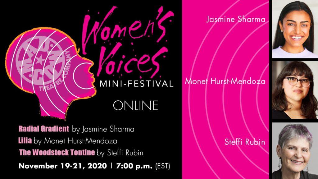 Women's Voices Mini-Festival Event Flyer
