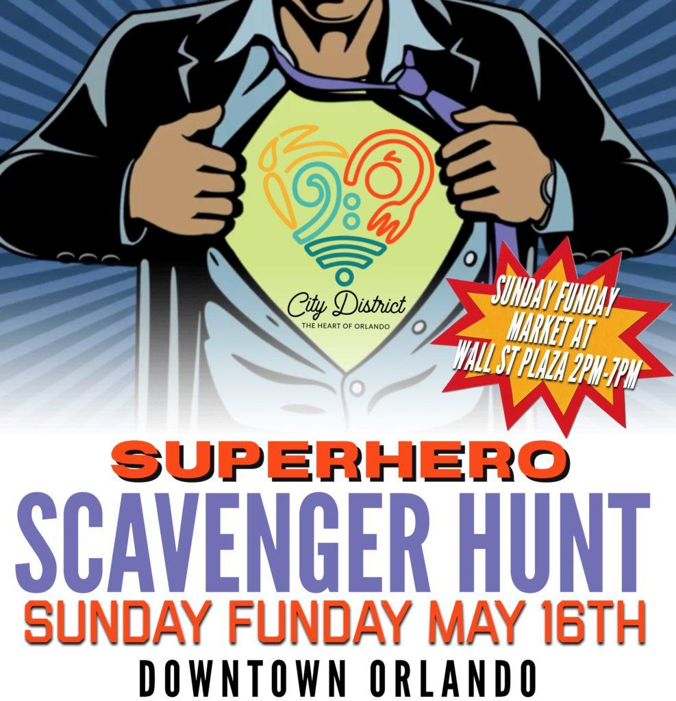 Superhero_Scavenger_Hunt